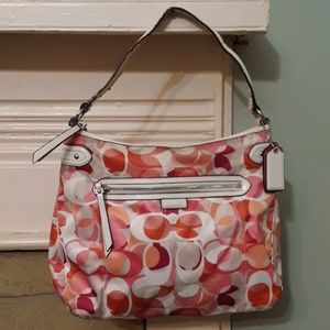 Coach Daisy Kaleidoscope Print Hobo Handbag